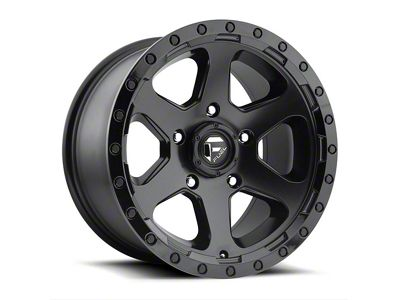 Fuel Wheels Ripper Gloss Black Milled 6-Lug Wheel - 17x9 (04-18 F-150)