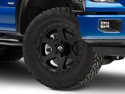 Fuel Wheels Ripper Matte Black 6-Lug Wheel - 18x9 (04-18 F-150)