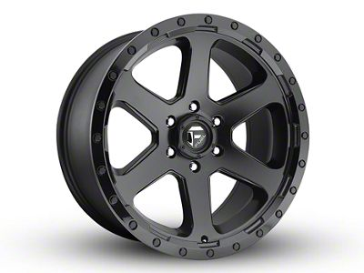 Fuel Wheels Ripper Matte Black 6-Lug Wheel - 20x10 (04-18 F-150)