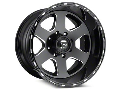 Fuel Wheels Ripper Matte Black Milled 6-Lug Wheel - 20x10 (04-18 F-150)