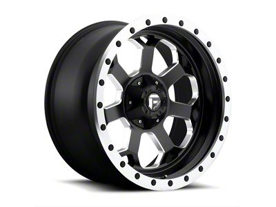 Fuel Wheels Savage Black Milled 6-Lug Wheel - 18x9 (04-18 F-150)