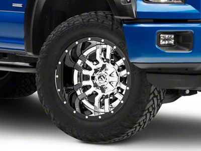 Fuel Wheels Sledge Chrome 6-Lug Wheel - 20x12 (04-18 F-150)