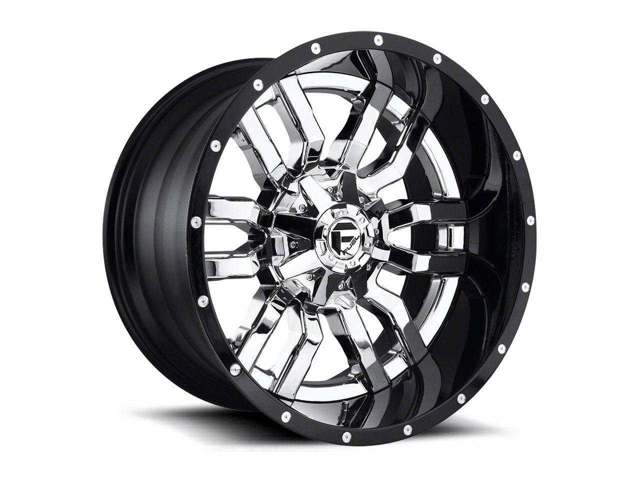 Fuel Wheels Sledge Chrome 6-Lug Wheel - 22x12 (04-18 F-150)