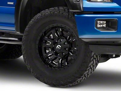 Fuel Wheels Sledge Gloss Black Milled 6-Lug Wheel - 17x9 (04-18 F-150)