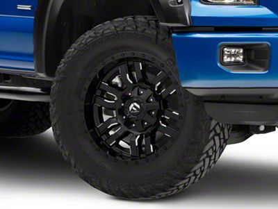 Fuel Wheels Sledge Gloss Black Milled 6-Lug Wheel - 18x9 (04-18 F-150)