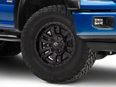 Fuel Wheels Sledge Gloss & Matte Black 6-Lug Wheel - 18x9 (04-18 F-150)