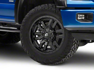 Fuel Wheels Sledge Matte Black 6-Lug Wheel - 20x9 (04-18 F-150)