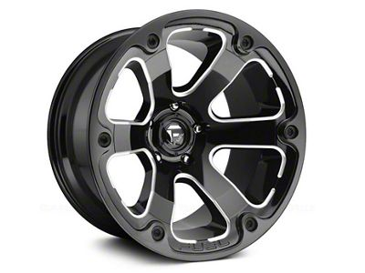 Fuel Wheels STRYKR Gloss Black Milled 6-Lug Wheel - 17x9 (04-18 F-150)