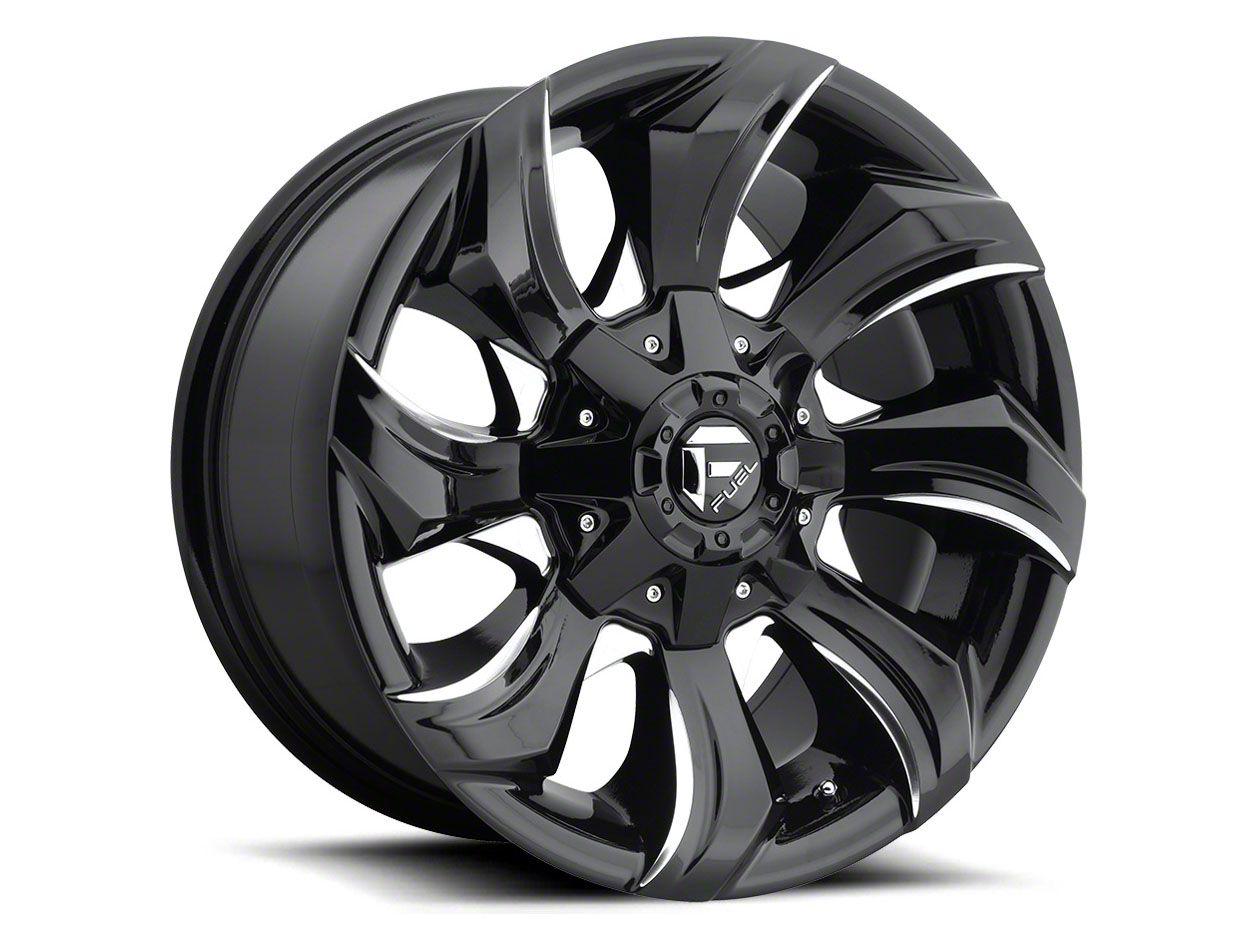 Fuel Wheels STRYKR Gloss Black Milled 6-Lug Wheel - 20x10 (04-19 F-150)