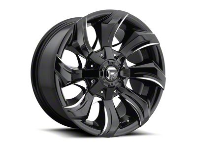 Fuel Wheels STRYKR Gloss Black Milled 6-Lug Wheel - 20x9 (04-18 F-150)