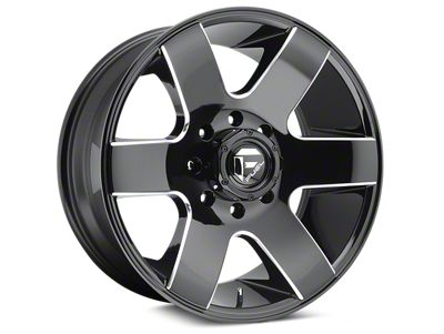 Fuel Wheels Tank Gloss Black Milled 6-Lug Wheel - 20x10 (04-18 F-150)