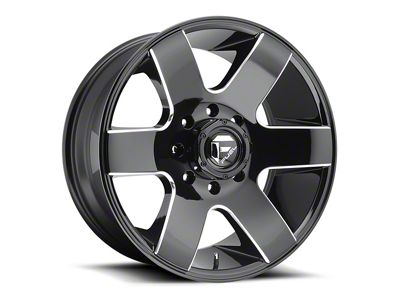 Fuel Wheels Tank Gloss Black Milled 6-Lug Wheel - 20x9 (04-18 F-150)