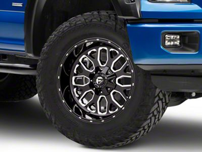 Fuel Wheels Titan Black Milled 6-Lug Wheel - 20x10 (04-18 F-150)