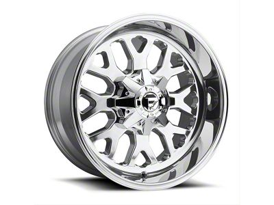 Fuel Wheels Titan Polished 6-Lug Wheel - 20x10 (04-18 F-150)