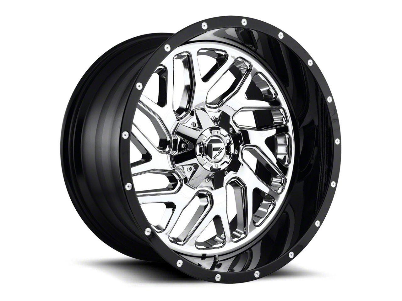 Fuel Wheels Triton Chrome 6-Lug Wheel - 22x12 (04-18 F-150)