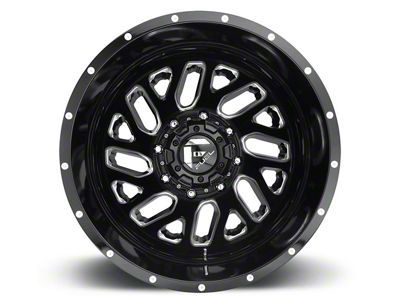 Fuel Wheels Triton Gloss Black Milled 6-Lug Wheel - 17x9 (04-19 F-150)