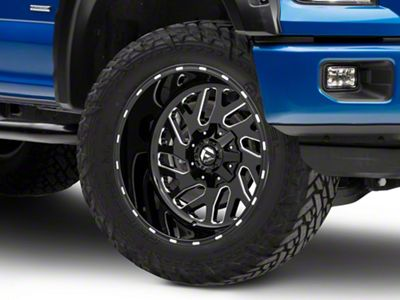 Fuel Wheels Triton Gloss Black Milled 6-Lug Wheel - 20x12 (04-18 F-150)
