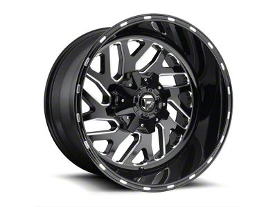 Fuel Wheels Triton Gloss Black Milled 6-Lug Wheel - 20x9 (04-18 F-150)