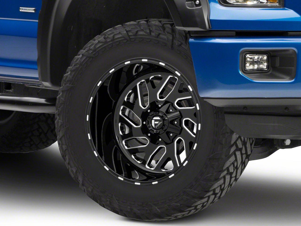 Fuel Wheels Turbo Gloss Black Milled 6-Lug Wheel - 20x12 (04-19 F-150)