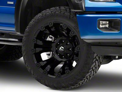 Fuel Wheels Vapor Matte Black 6-Lug Wheel - 20x12 (04-18 F-150)