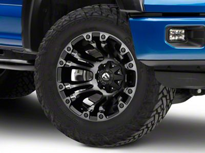 Fuel Wheels Vapor Matte Black Machined 6-Lug Wheel - 20x12 (04-18 F-150)
