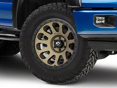 Fuel Wheels Vector Bronze 6-Lug Wheel - 20x10 (04-18 F-150)