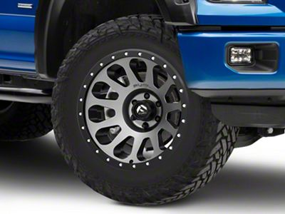 Fuel Wheels Vector Gun Metal 6-Lug Wheel - 20x10 (04-18 F-150)