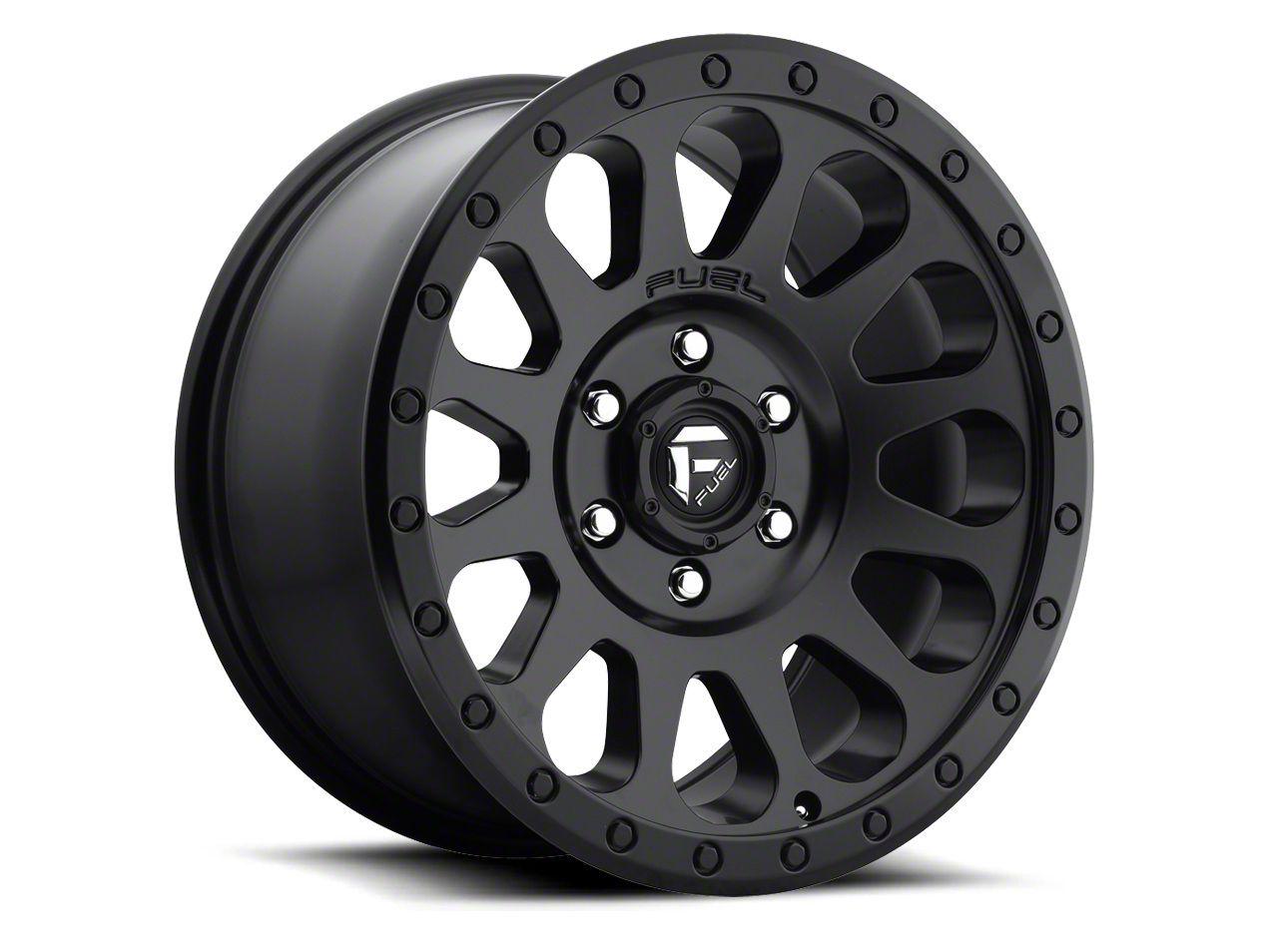 Fuel Wheels Vector Matte Black 6-Lug Wheel - 20x10 (04-19 F-150)