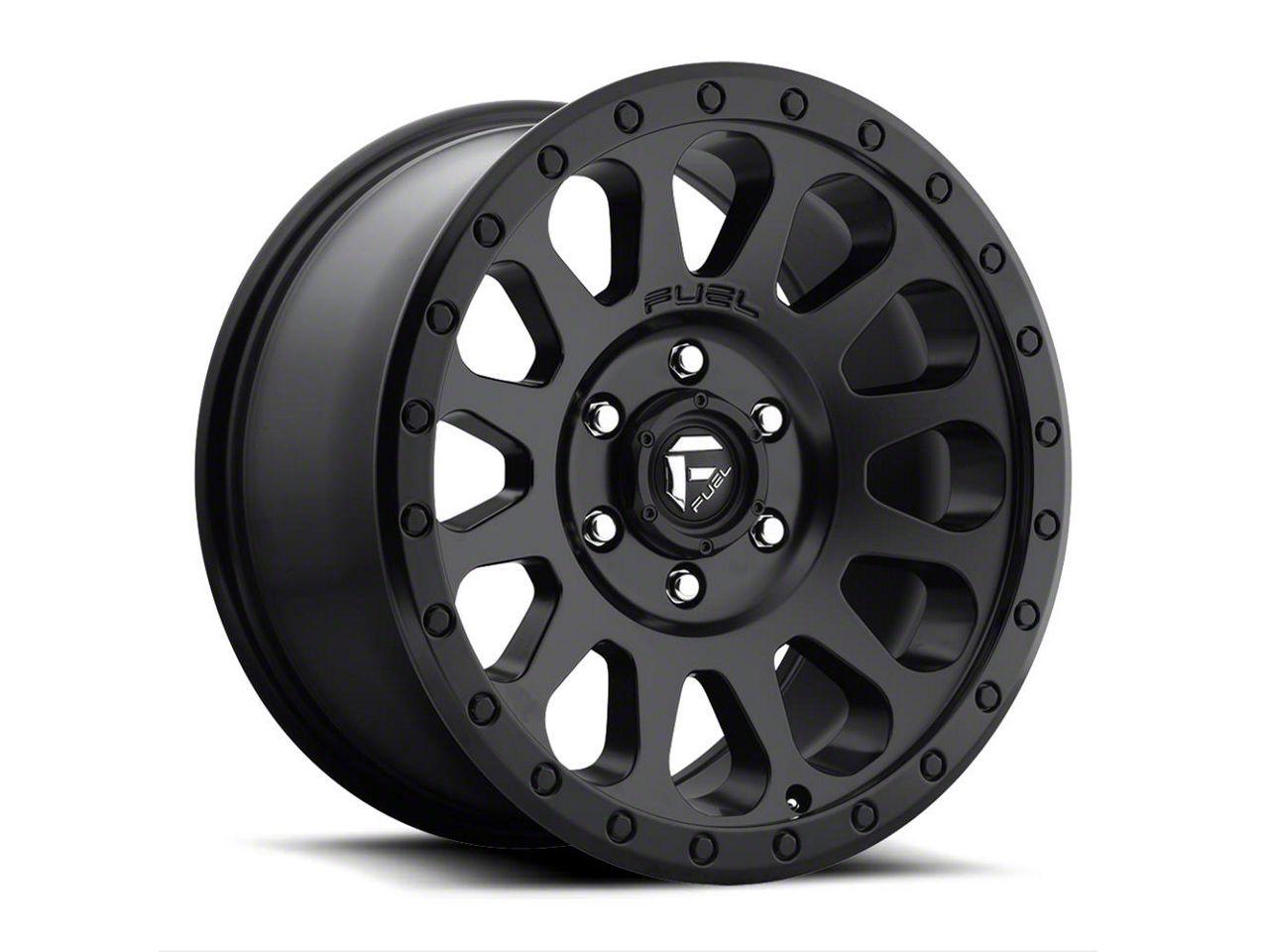Fuel Wheels Vector Matte Black 6-Lug Wheel - 20x9 (04-18 F-150)