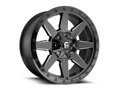 Fuel Wheels Wildcat Gloss Black Milled 6-Lug Wheel - 20x10 (04-18 F-150)