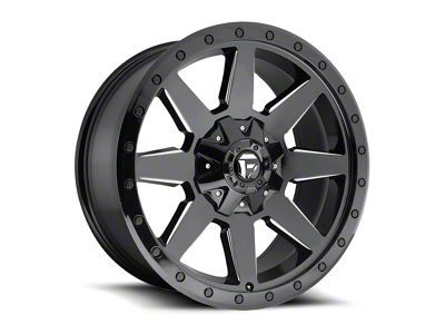 Fuel Wheels Wildcat Gloss Black Milled 6-Lug Wheel - 20x9 (04-18 F-150)