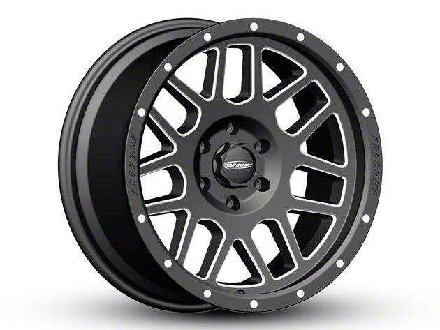 Pro Comp Vertigo Satin Black Milled 6-Lug Wheel - 20x9 (04-18 F-150)