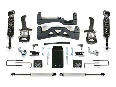 Fabtech 6 in. Performance GEN II Lift System w/ Dirt Logic Coilovers & Shocks (09-13 4WD F-150 SuperCrew, Excluding Raptor)