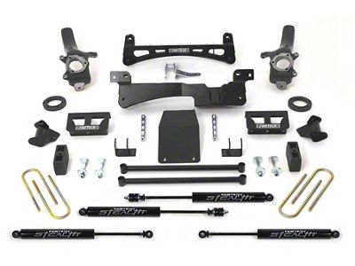 Fabtech 6 in. Performance Lift System w/ Stealth Shocks (97-03 4WD F-150)
