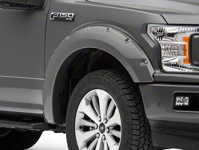 MMD Bolt-On Look Fender Flares - Color Matched (18-19 F-150, Excluding Raptor)