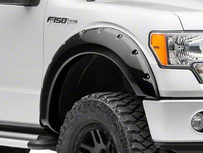 MMD Bolt-On Look Fender Flares - Color Matched (09-14 F-150, Excluding Raptor)