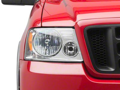 Oracle Chrome OE Style Headlights w/ LED Halos (04-08 F-150)