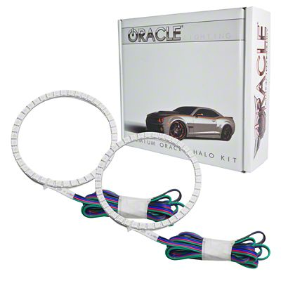 Oracle LED Projector Headlight Halo Conversion Kit - ColorSHIFT (13-14 F-150 w/ Factory Projectors/HIDs)