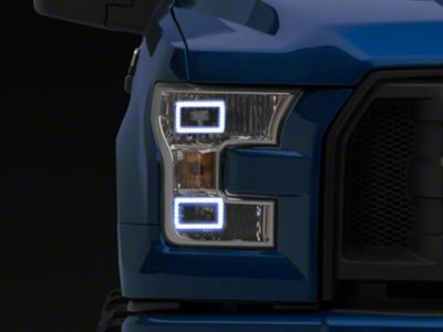 Oracle Perimeter Flex Strip LED Daytime Running Light Kit - ColorSHIFT (15-17 F-150 w/ Halogen Headlights)