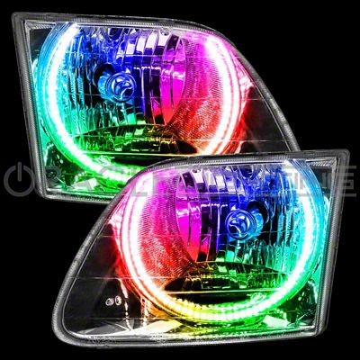 Oracle LED Headlight Halo Conversion Kit - ColorSHIFT (99-03 F-150 Lightning)