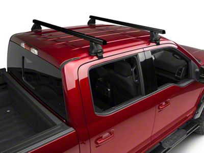 Rhino-Rack Heavy Duty 2500 2-Bar Roof Rack - Black (15-19 F-150 SuperCrew)