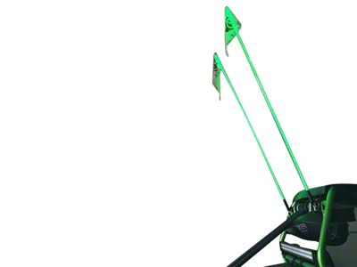 Oracle Off-Road 4 ft. LED Whip - Green (97-18 F-150)
