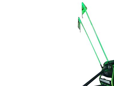 Oracle Off-Road 6 ft. LED Whip - Green (97-18 F-150)