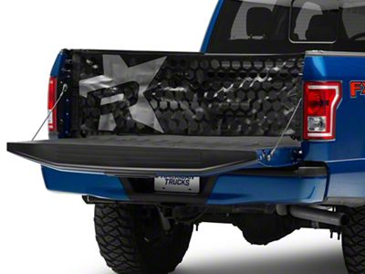 RBP Honeycomb Tailgate Net - Gray Star (97-19 F-150)