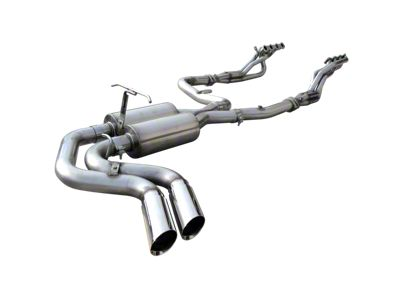 American Racing Headers 1-3/4 in. Long Tube Headers, Off-Road X-Pipe w/ Dual Exhaust System - Middle Side Exit (99-03 F-150 Lightning)