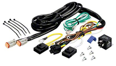 KC HiLiTES Add-On Wiring Harness (97-18 F-150)