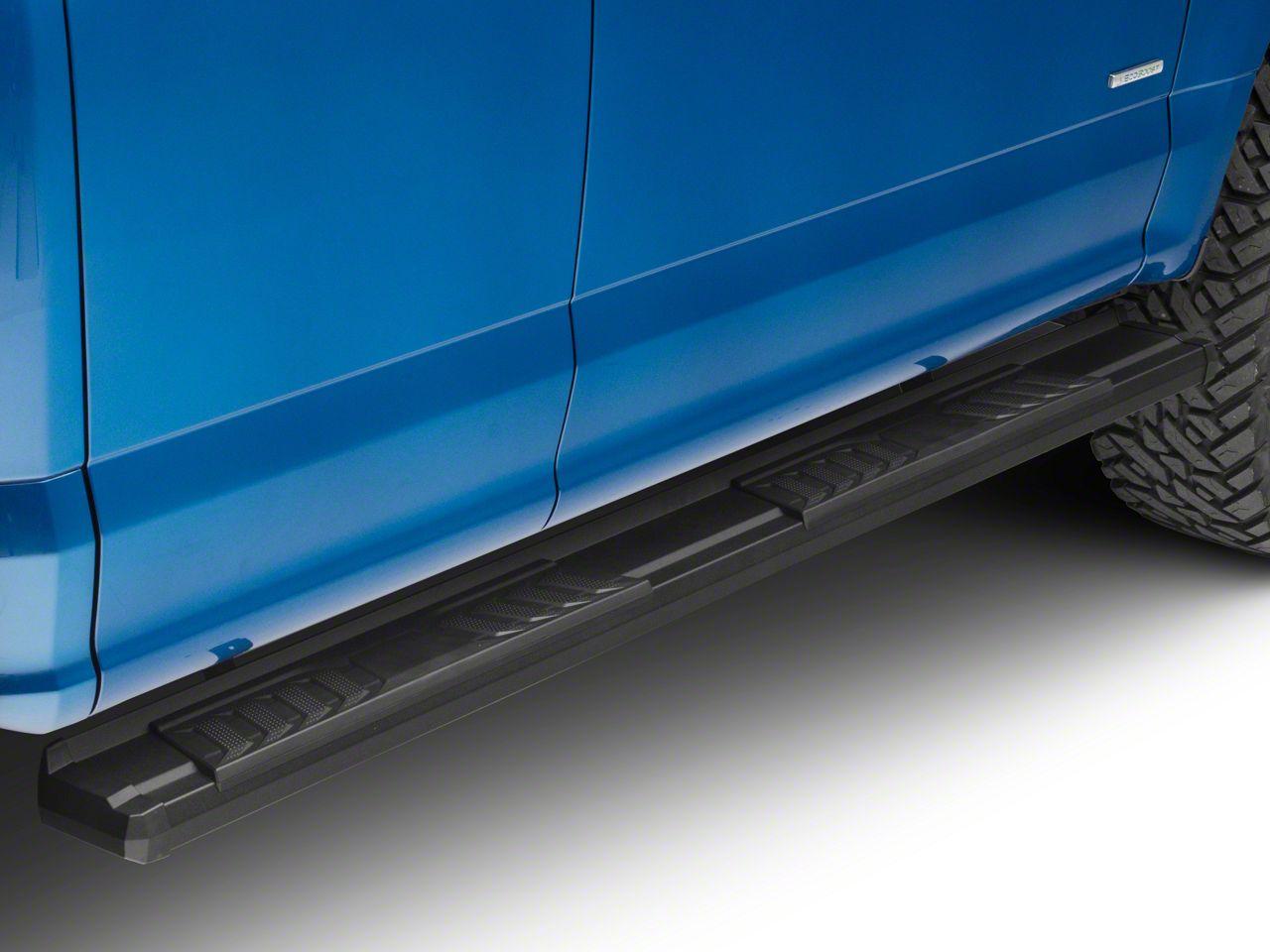 Duratrek S6 Running Boards - Black (15-19 F-150 SuperCab, SuperCrew)
