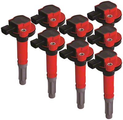 MSD Blaster Coil Packs - Red (11-16 5.0L F-150)