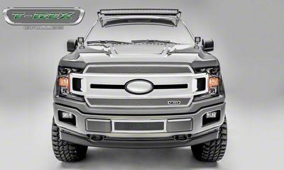 T-REX Upper Class Series Lower Bumper Grille Insert - Polished (18-19 F-150, Excluding Raptor)