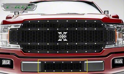 T-REX Laser X-Metal Series Lower Bumper Grille Insert - Black (18-19 F-150, Excluding Raptor)